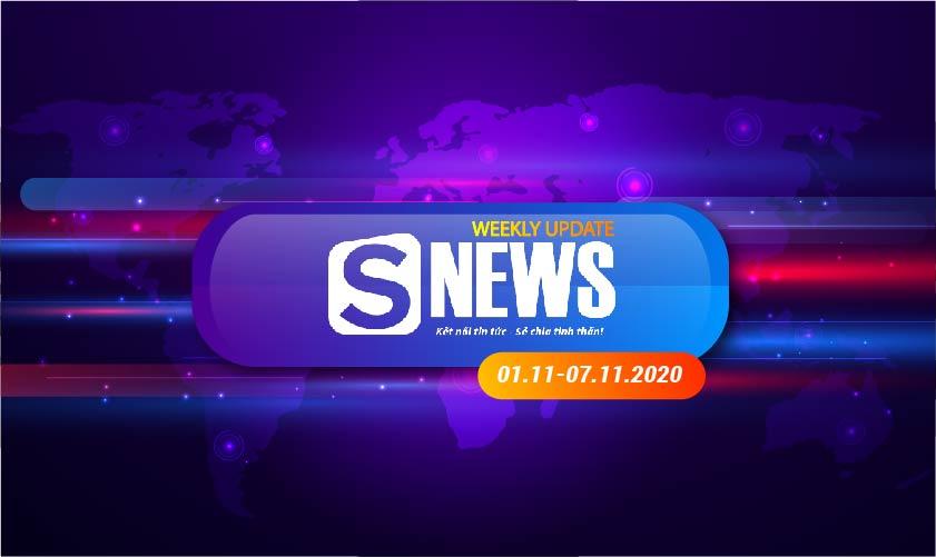Tổng hợp tin tức Sapo tuần qua: 01.11 - 07.11.2020