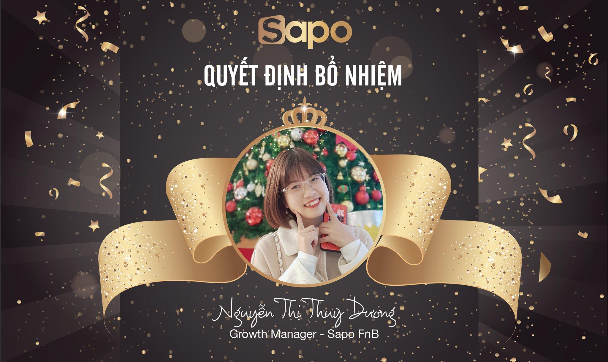 Quyết định bổ nhiệm Growth Manager - Sapo FnB