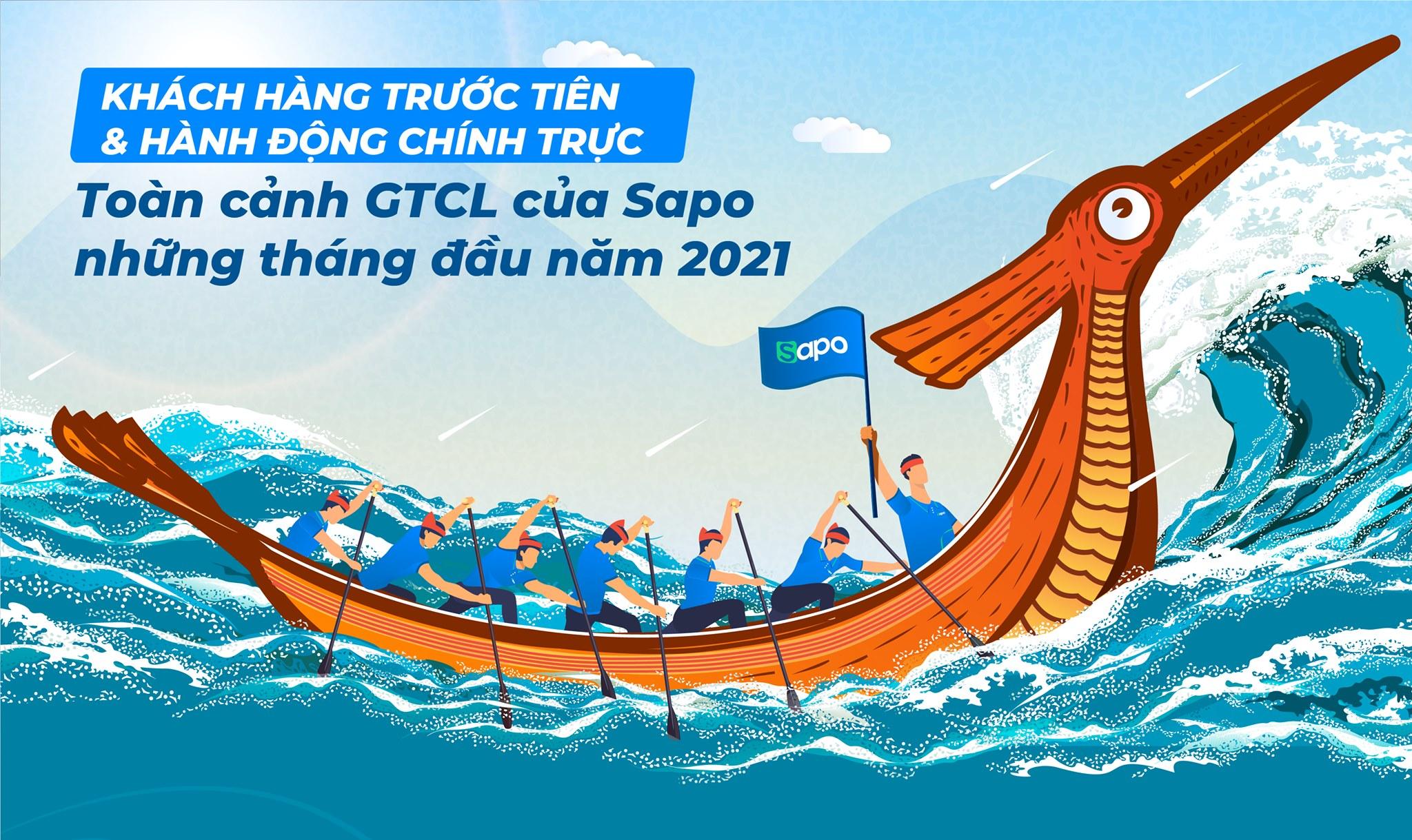 Khách hàng trước tiên & Hành động chính trực - Toàn cảnh GTCL của Sapo những tháng đầu năm 2021