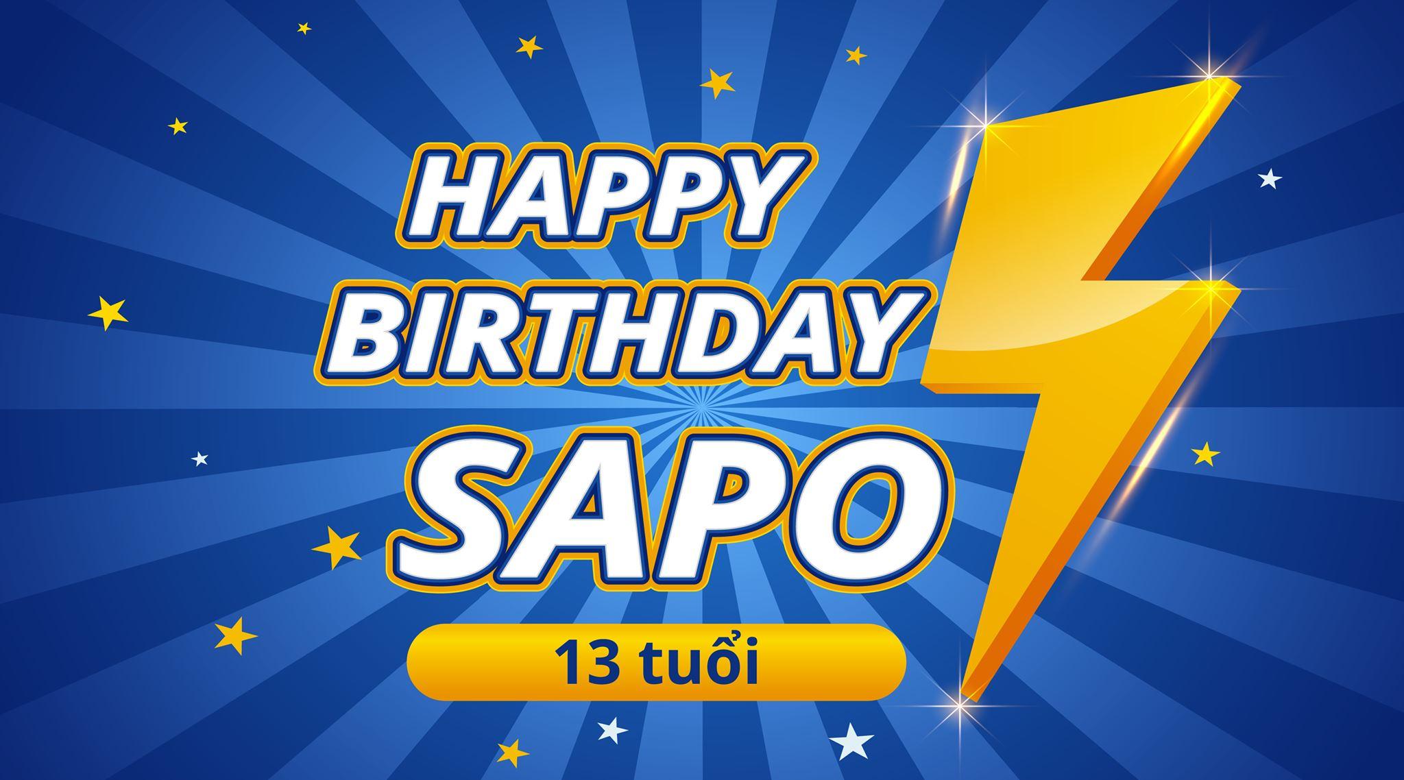 Bật mí một vài điều thú vị tại Sinh nhật Sapo 13 tuổi?