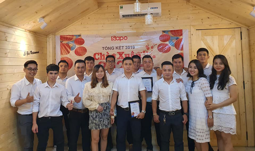 Tri ân và vinh danh Sapoer đóng góp đặc biệt cho sự phát triển văn hóa Sapo 2019