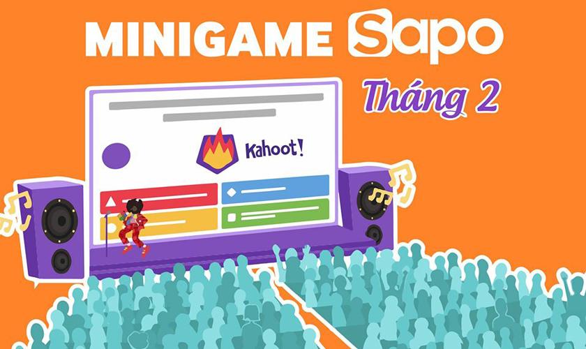 Minigame Kahoot - 02.2020: Bấm nhanh  tay - có ngay quà