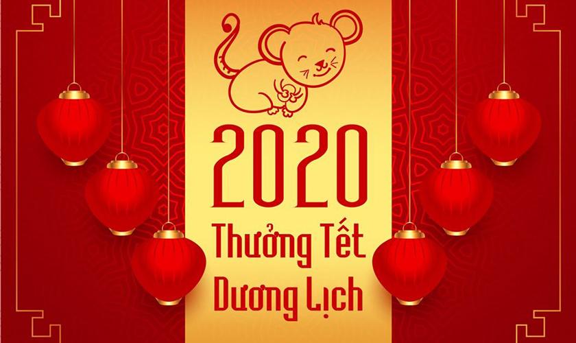 Thông báo: Thưởng Tết Dương lịch 2020