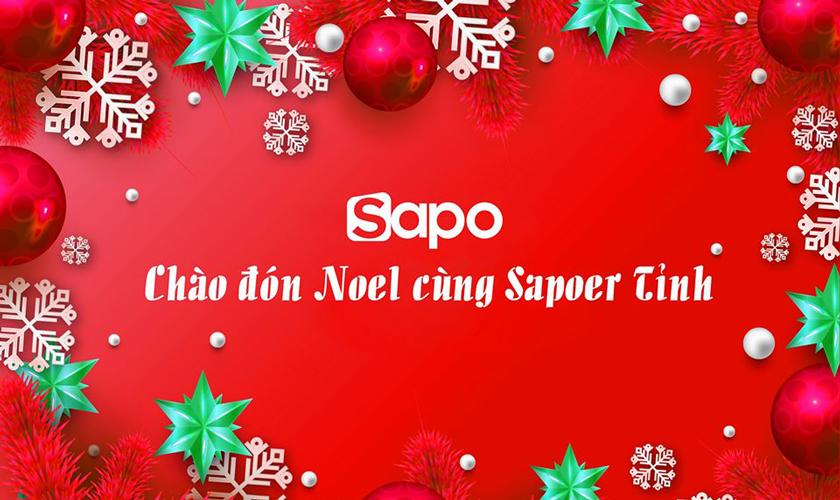 Cuộc thi: Chào đón Noel cùng Sapoer tỉnh