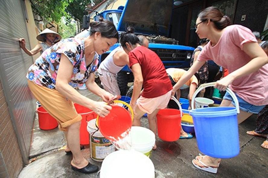 Thông báo: Mất nước khu vực 266 Đội Cấn - Hà Nội