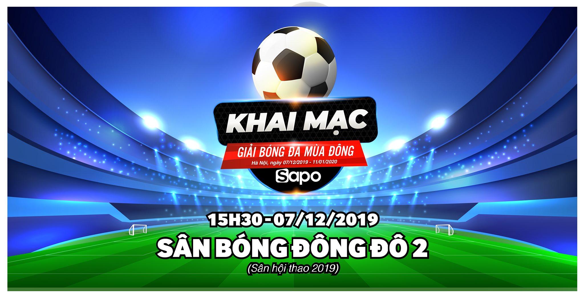 Thông báo: Khai mạc giải bóng đá mùa đông Sapo - Hà Nội
