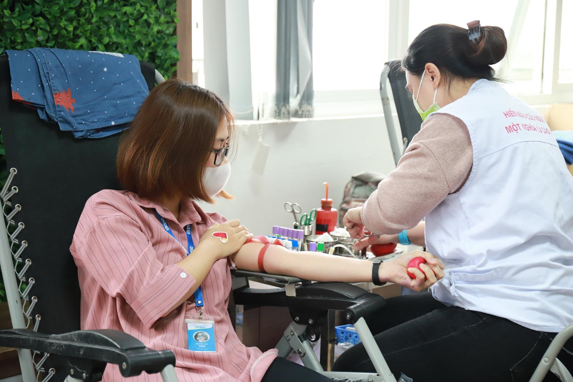 Ngày hội hiến máu phòng chống dịch Covid-19