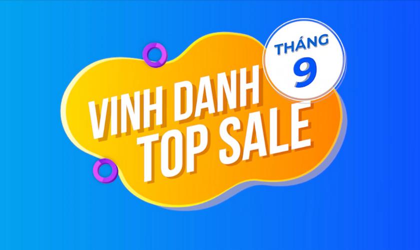 Vinh Danh Top Sale Xuất Sắc Tháng 9/2021