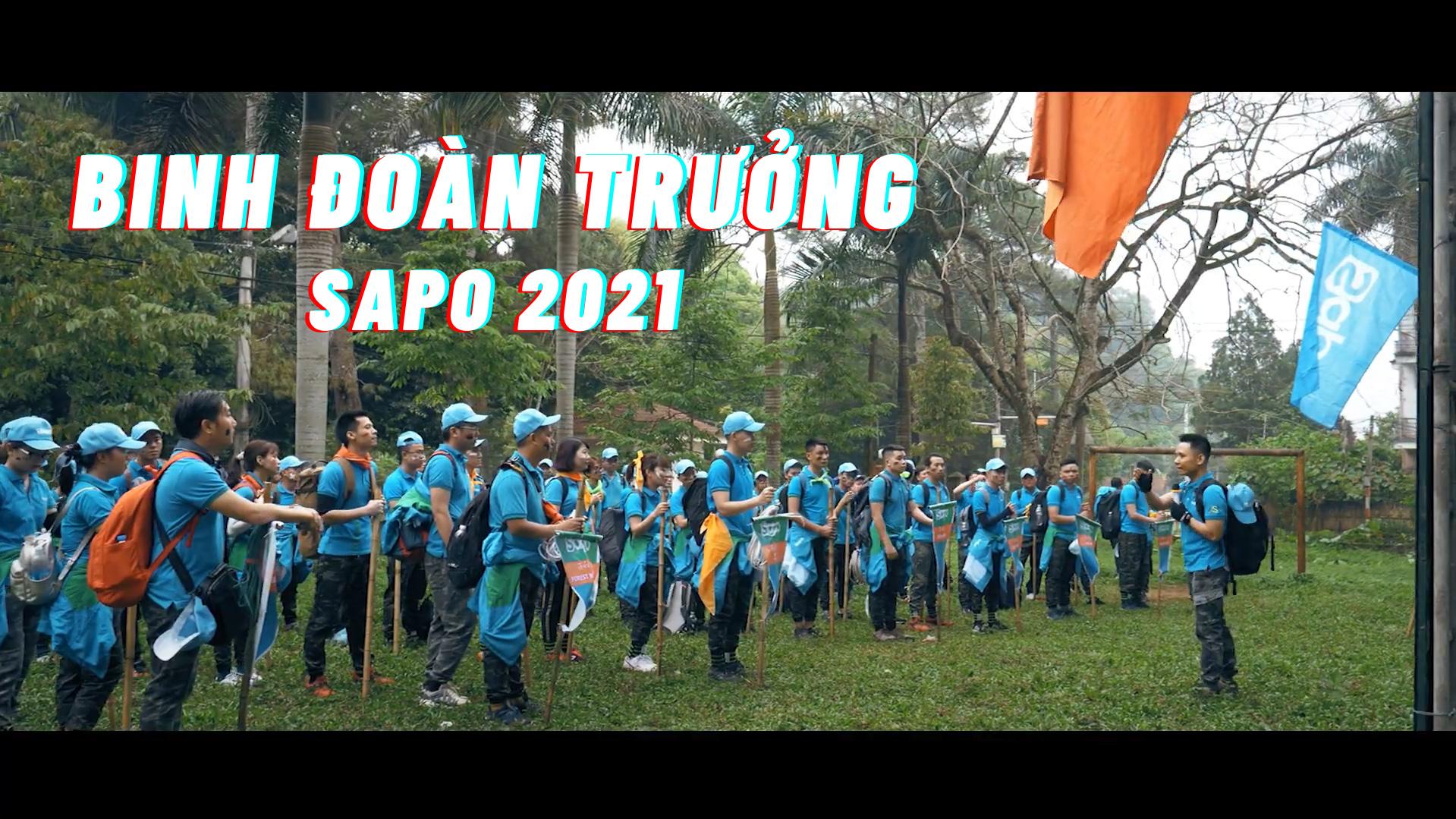 Trại huấn luyện Binh Đoàn Trưởng SAPO năm 2021.