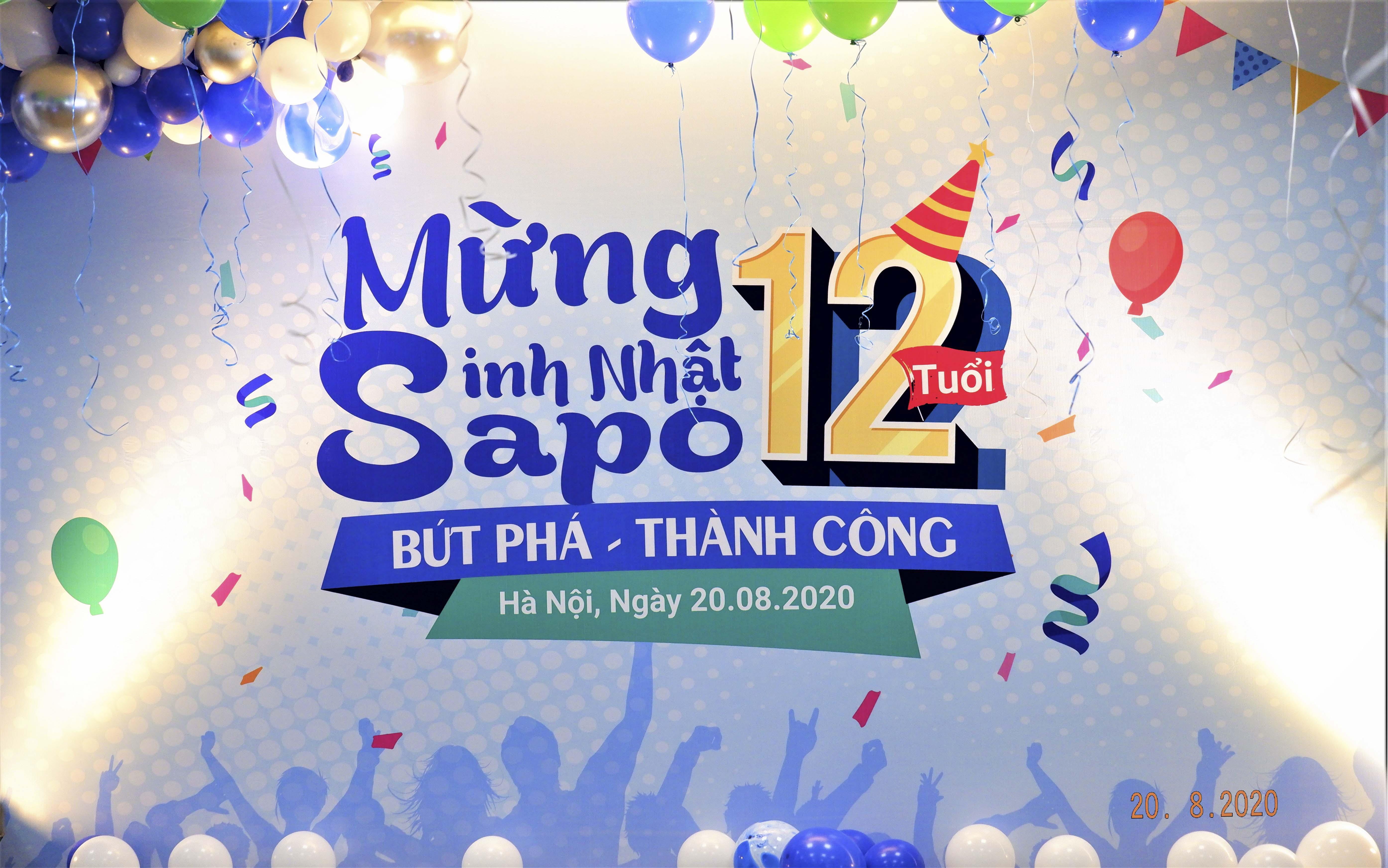 [Toàn cảnh Sapo 3 miền trong lễ kỷ niệm sinh nhật Sapo 12 tuổi]