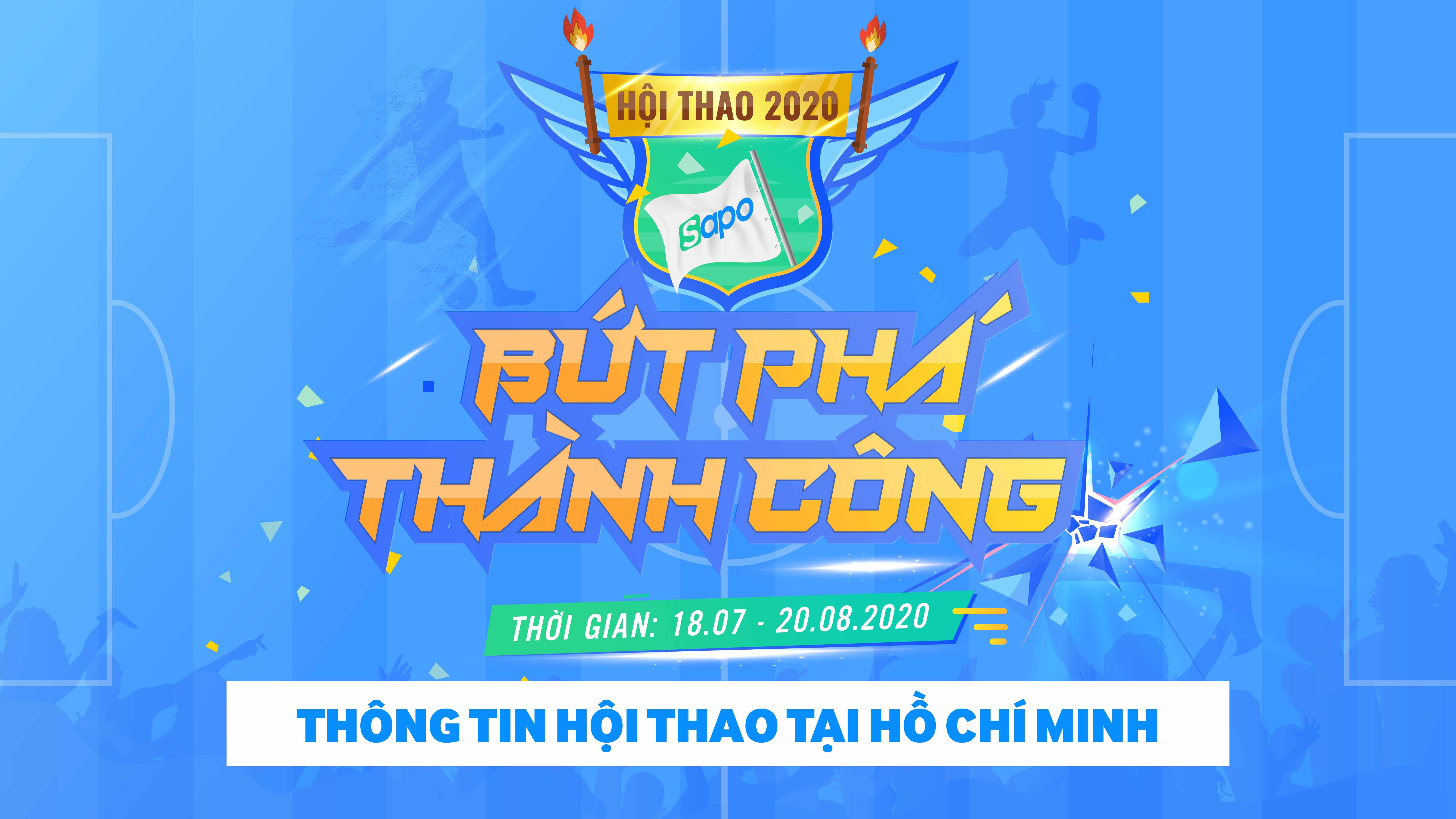 Chào mừng sinh nhật Sapo 12 tuổi - Hội thao 2020 tại Hồ Chí Minh.