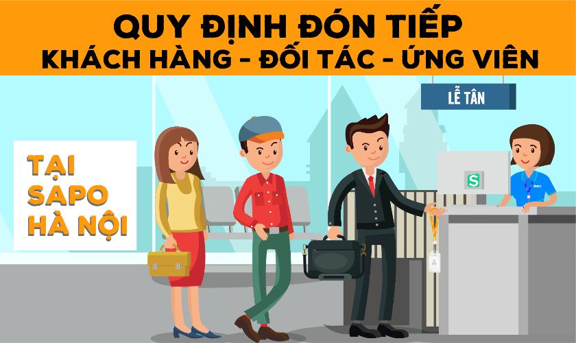 [ Thông báo: Quy định đón tiếp khách hàng - đối tác - ứng viên tại văn phòng Sapo Hà Nội]