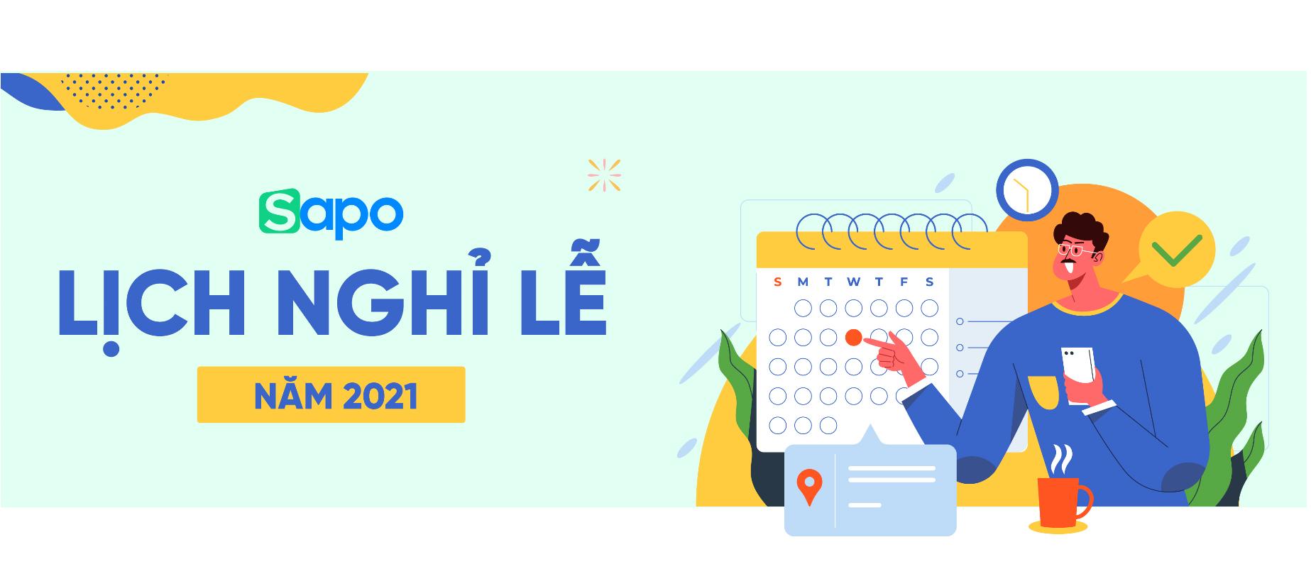 [Thông báo lịch nghỉ lễ năm 2021]