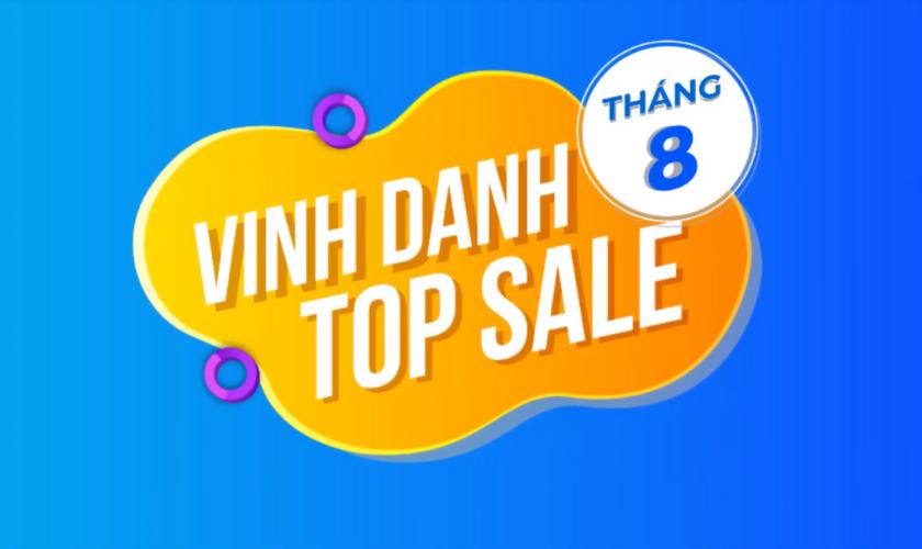 Vinh Danh Top Sale Xuất Sắc Tháng 8/2021