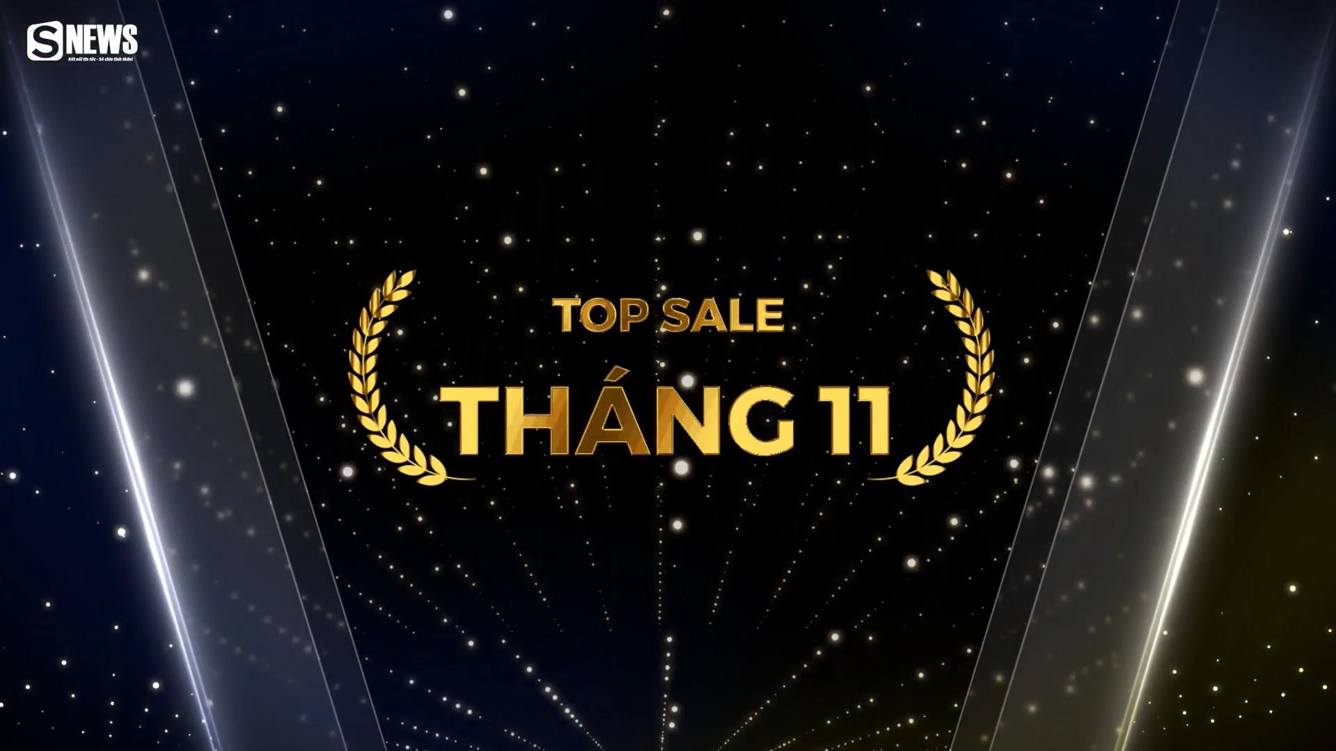Vinh danh TOP SALE tháng 11/2020