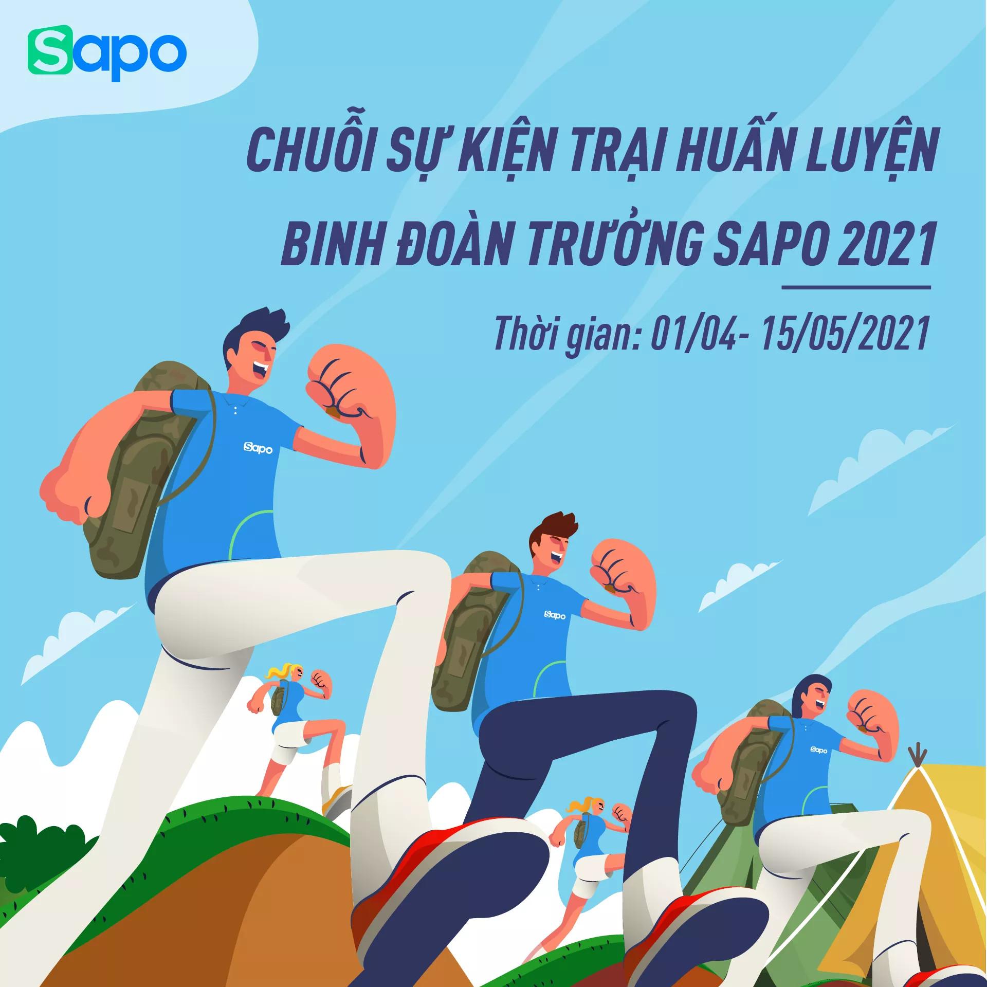 Trại huấn luyện binh đoàn trưởng Sapo 2021 có gì?