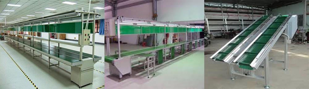 Chế tạo băng tải khung nhôm định hình tại Bắc Ninh