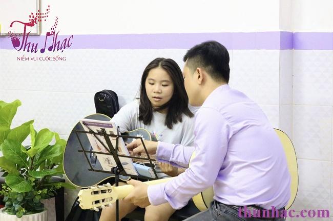 Địa chỉ học guitarcho trẻ tại TP.HCM