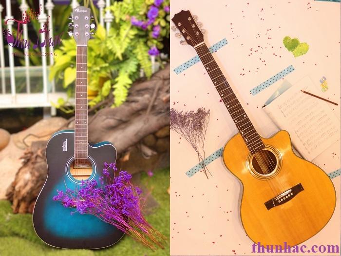 (Mẫu đàn guitar acoutic có sẵn tại Thu Nhạc)