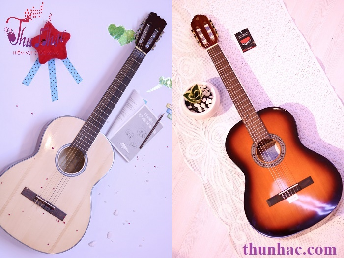(Mẫu đàn guitar classic có sẵn tại Thu Nhạc)