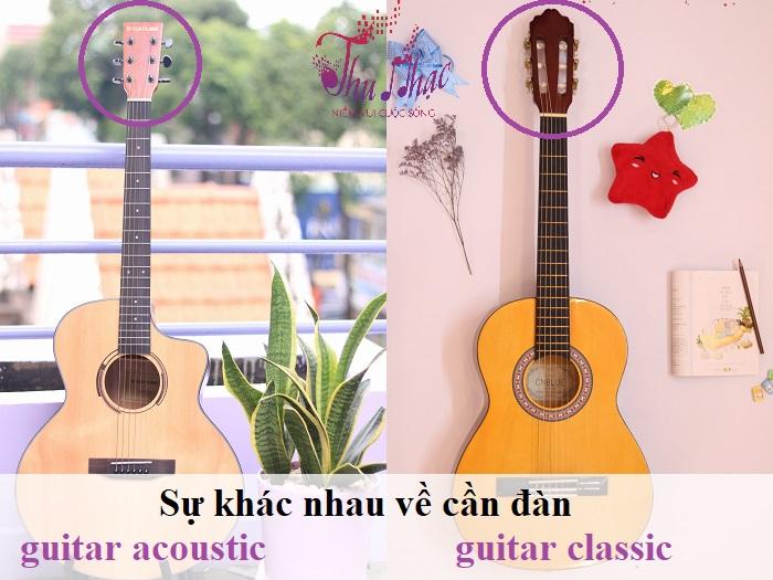 CÁCH PHÂN BIỆT ĐÀN GUITAR CLASSIC VÀ ĐÀN GUITAR ACOUSTIC   TP.HCM Mua-dan-guitar-tphcm