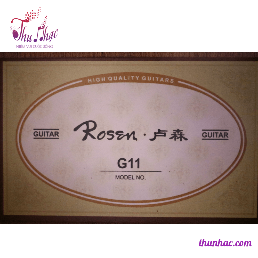GUITAR ACOUSTIC ROSEN G11 - ĐEN - SP000320