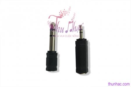 PK00051 - ĐẦU JACK CHUYỂN ĐỔI đen