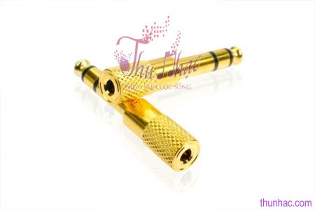 PK00050 - ĐẦU JACK CHUYỂN ĐỔI vàng