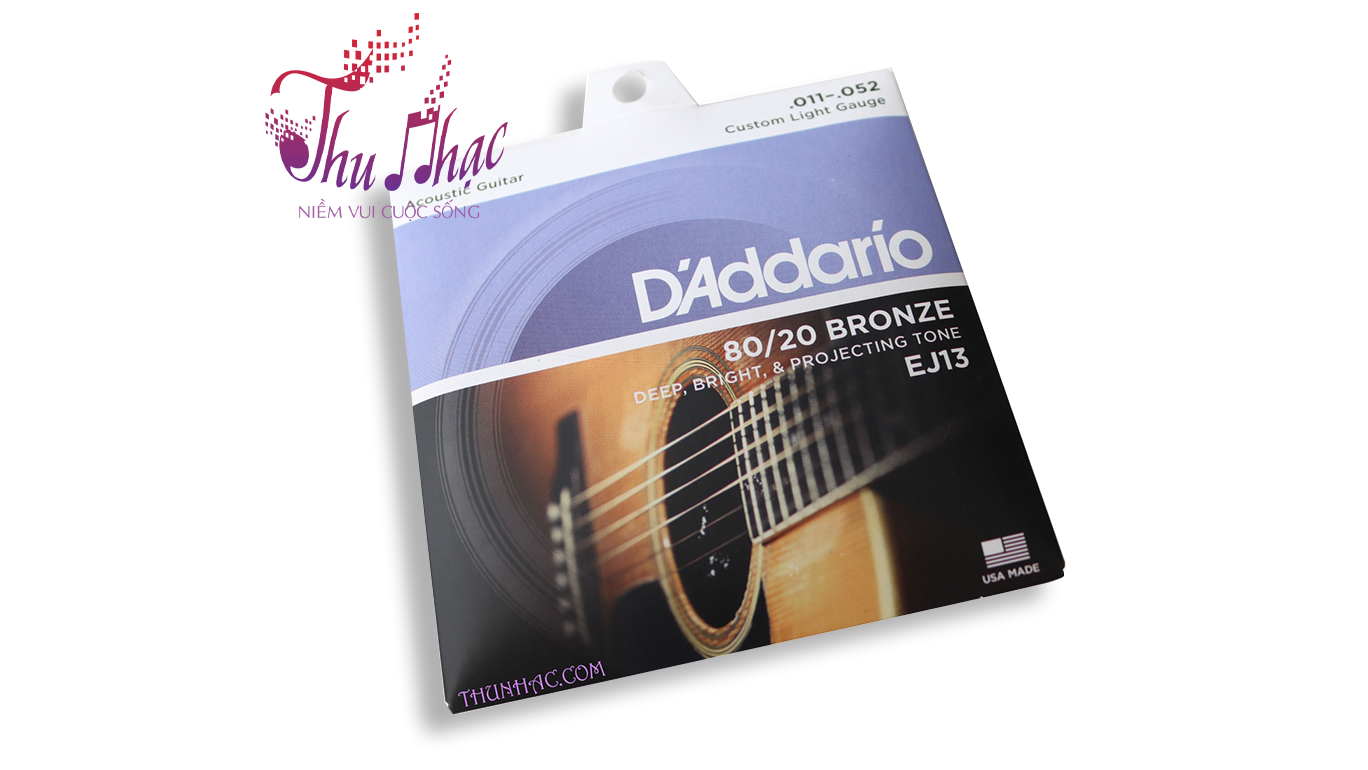 Dây Acoustic D'addario EJ13 -CHINA - DAY0169