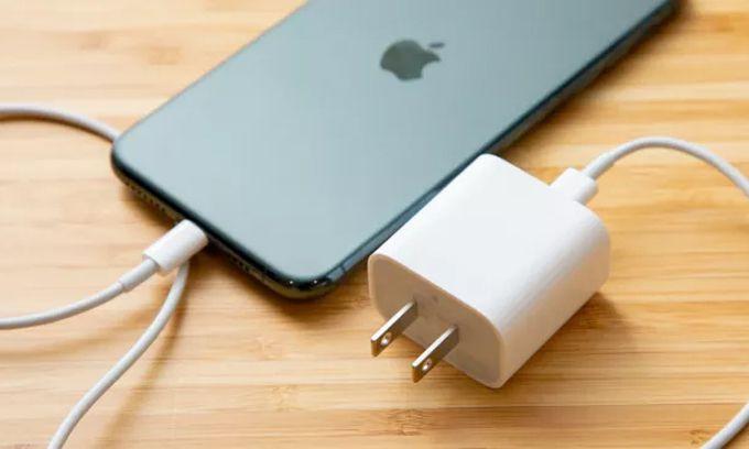 Sạc nhanh Apple iPhone 20W Type-C PD