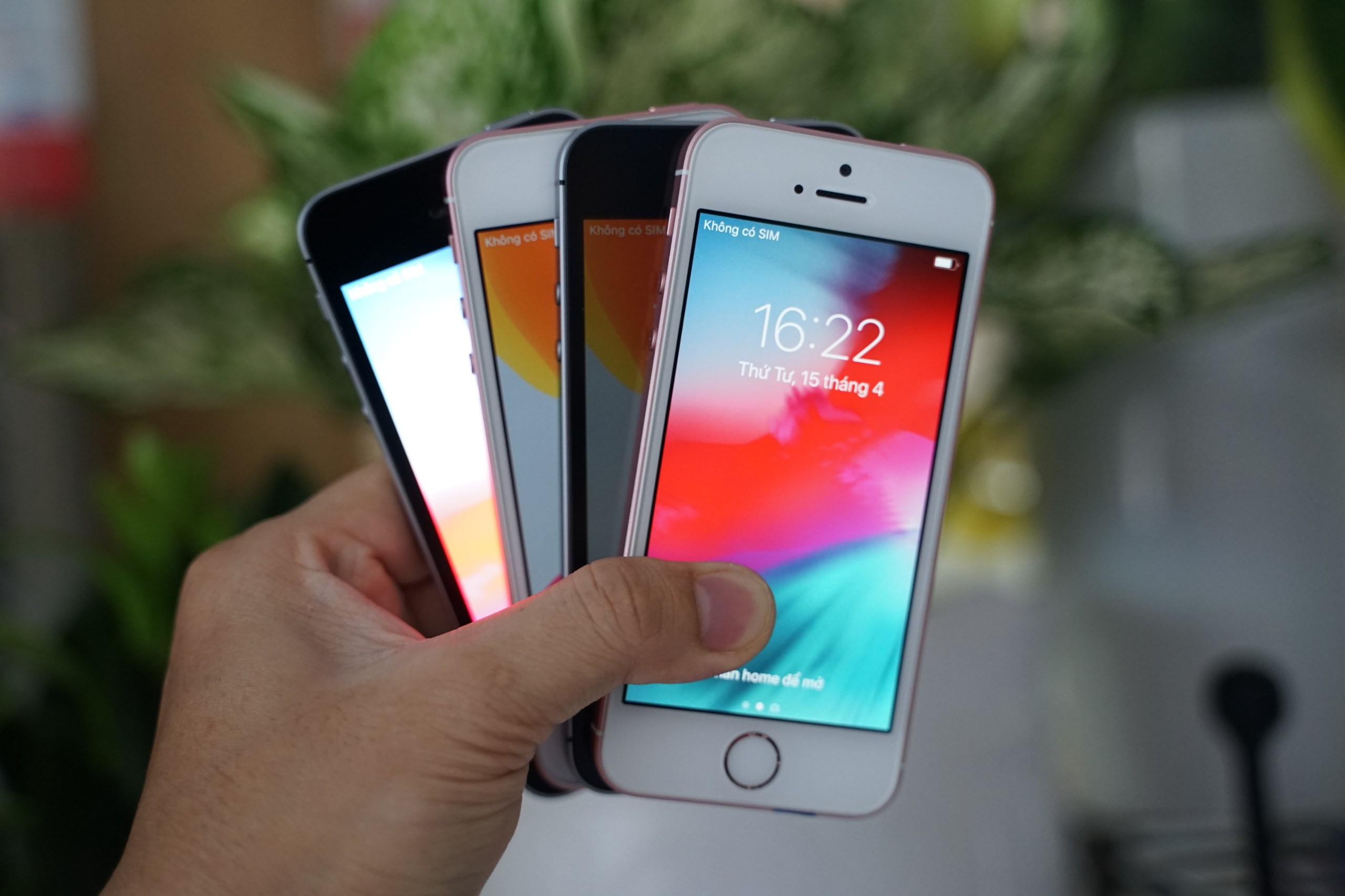 iPhone SE Zin all 99%