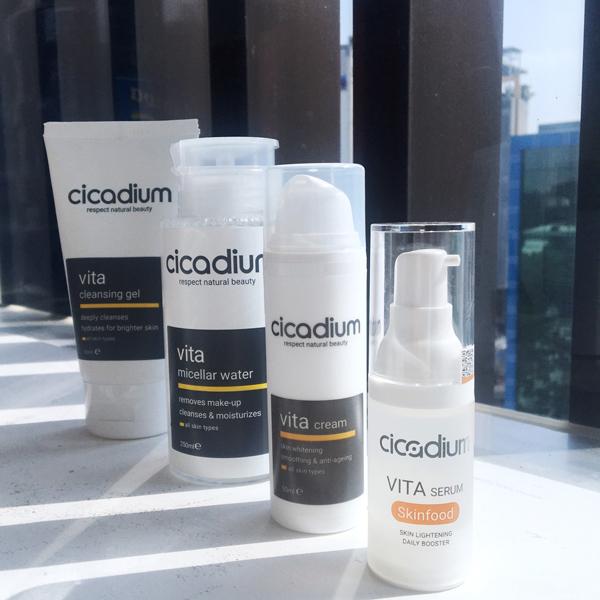 Dòng mỹ phẩm Cicadium Vita dành cho mọi loại da kể cả da nhạy cảm