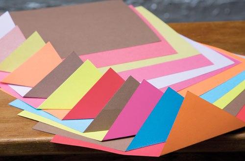 Giấy mỹ thuật A4 KISHU (giấy màu cứng xấp) Nhà sách Hồng Bách