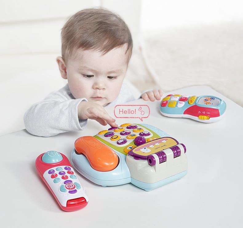 Đồ Chơi Điện Thoại, Remote - BabyCare