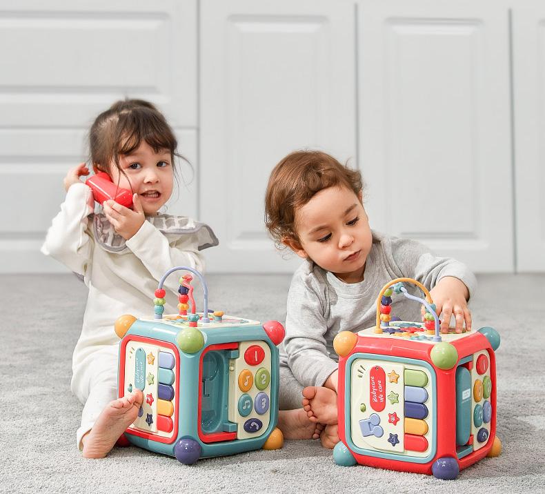Hộp Đồ Chơi Đa Tương Tác - BabyCare