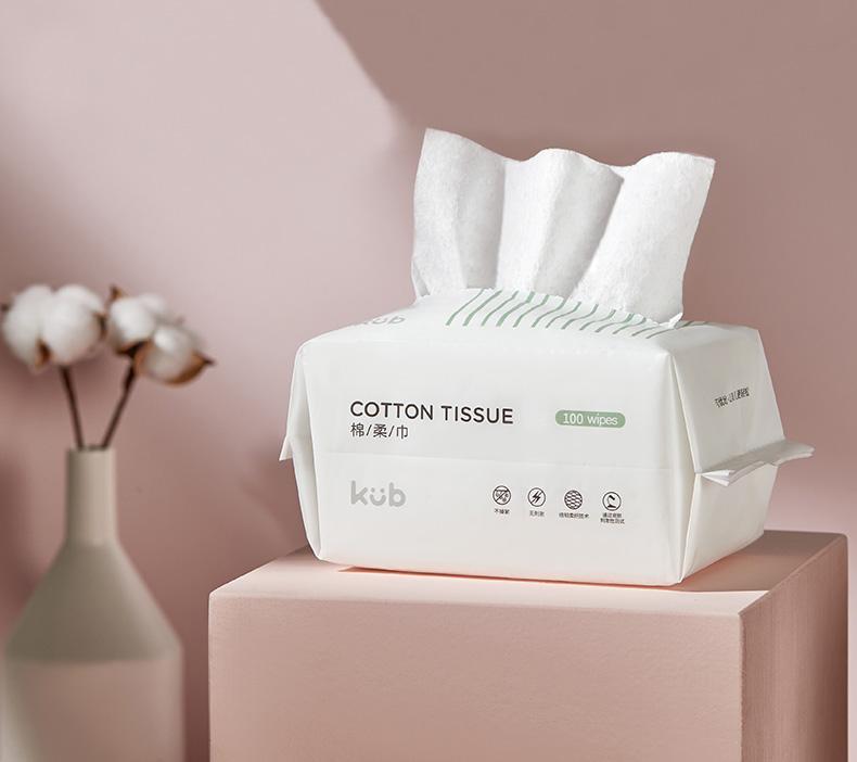 Khăn Giấy Cotton Cao Cấp - KUB