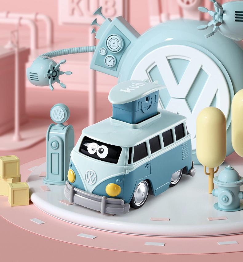 Xe Ô Tô Bus Volkswagen KUB