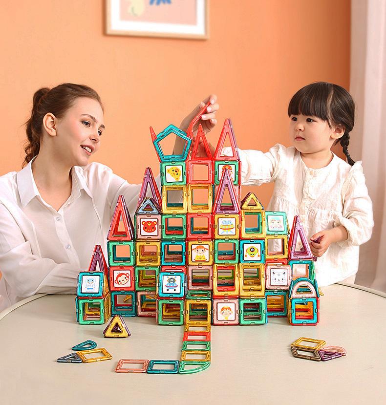 Xếp Hình Nam Châm Magnetic Blocks - KUB
