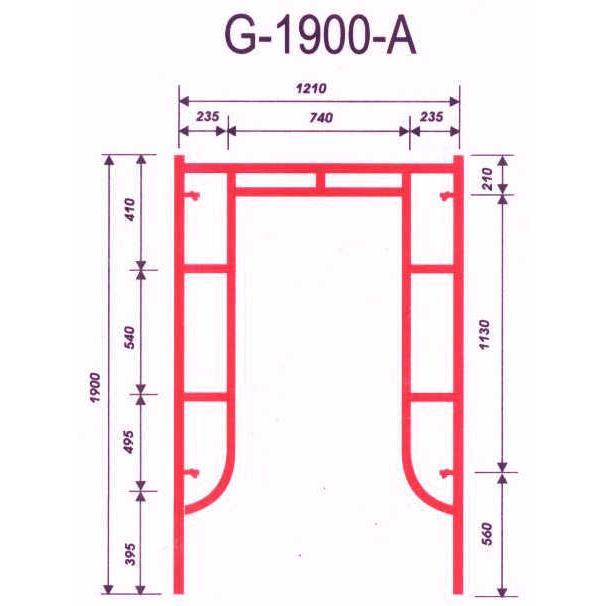 Giàn giáo G-1900-A