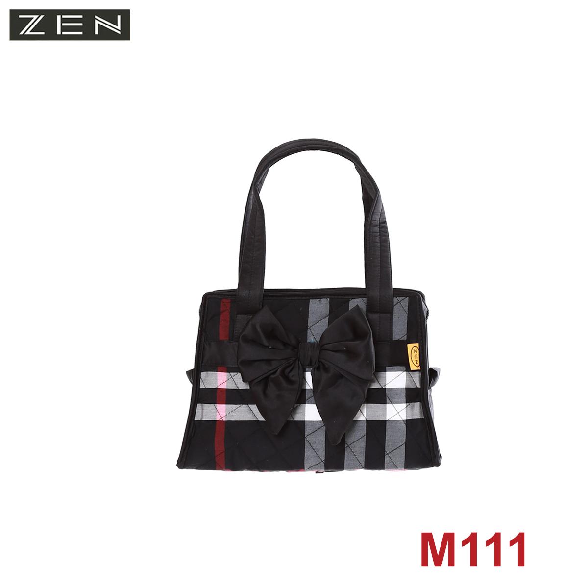 T122/M110/TÚI NHỎ, HÌNH THANG, NƠ GIỮA,CÁC  MÀU