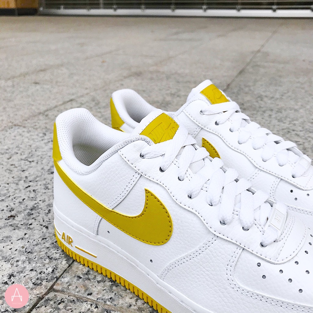 [AH0287-103] W NIKE AIR FORCE 1 LOW PATENT BRIGHT WHITE CINTRON