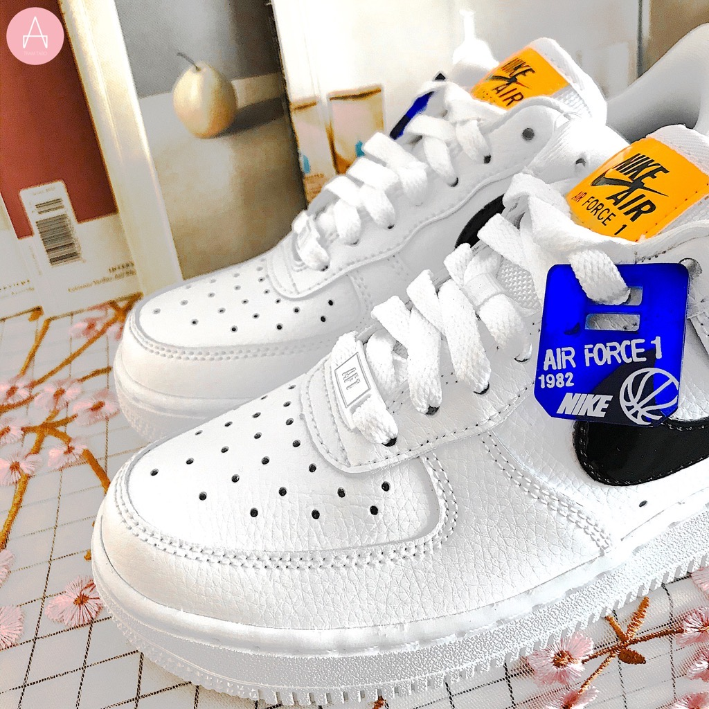 [CI3446-100] W NIKE AIR FORCE 1 '07 LOW SE WHITE BLACK