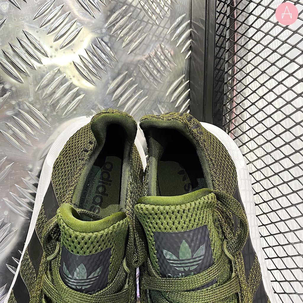 [CG6167] M ADIDAS SWIFT RUN GREEN BLACK