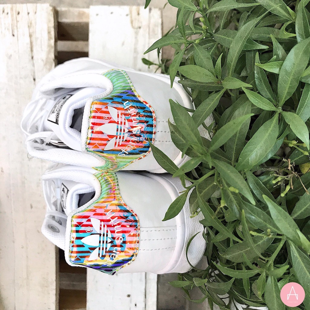 [EH0780] K ADIDAS STANSMITH IRIDESCENT LINE