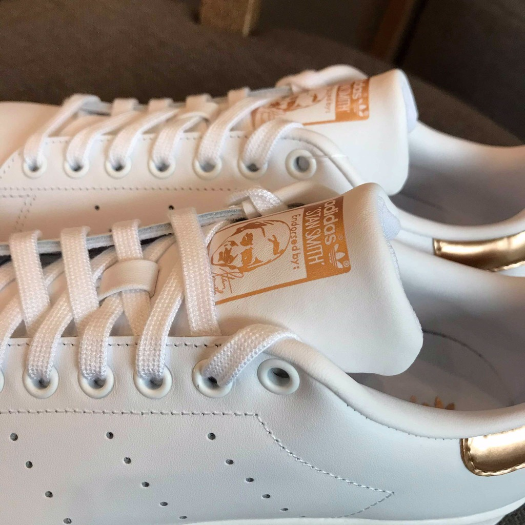 [EF0749] W ADIDAS STAN SMITH EXCLUSIVE LIMITED GOLD WHITE