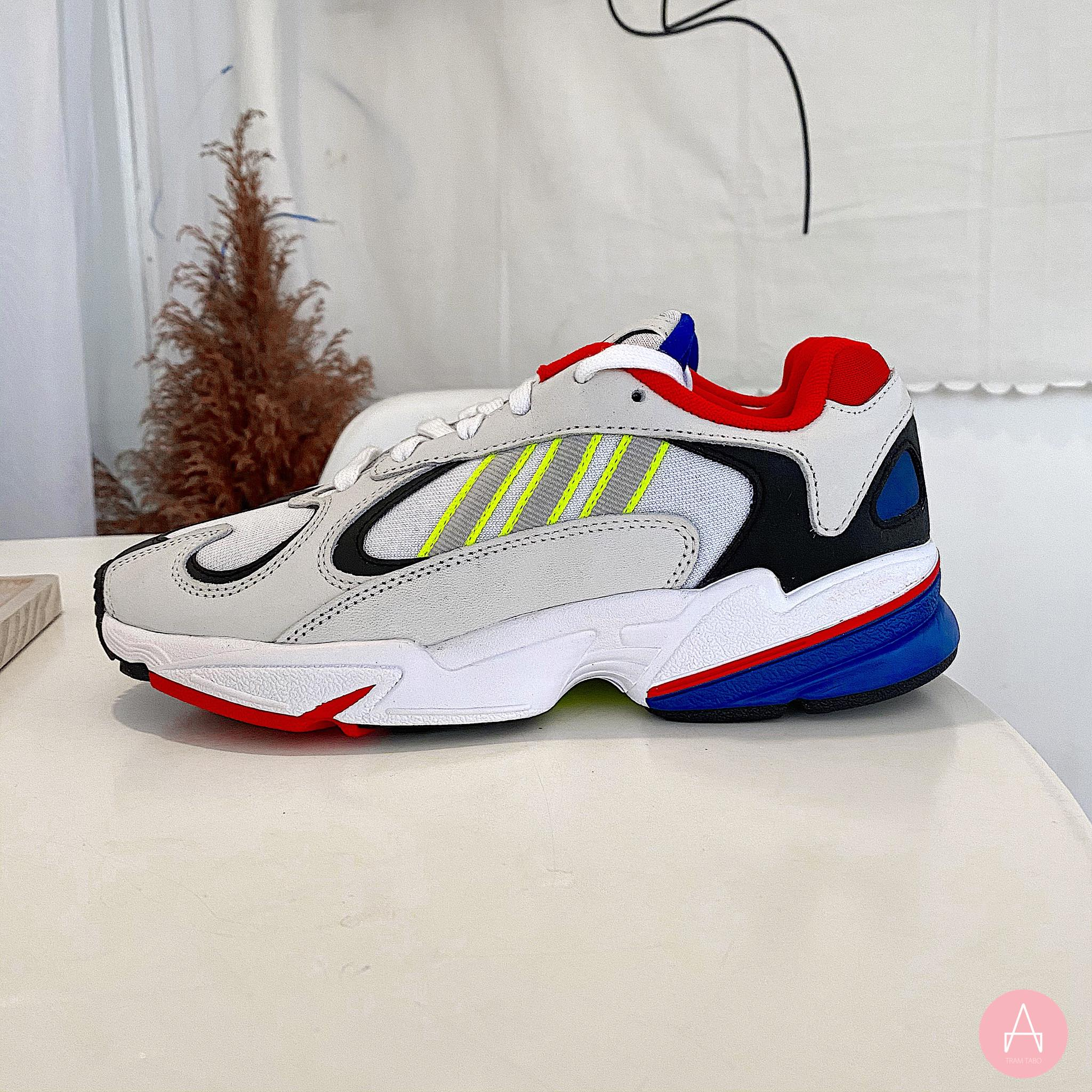 [EH0868] M ADIDAS YUNG 1 WHITE MULTI - COLOR