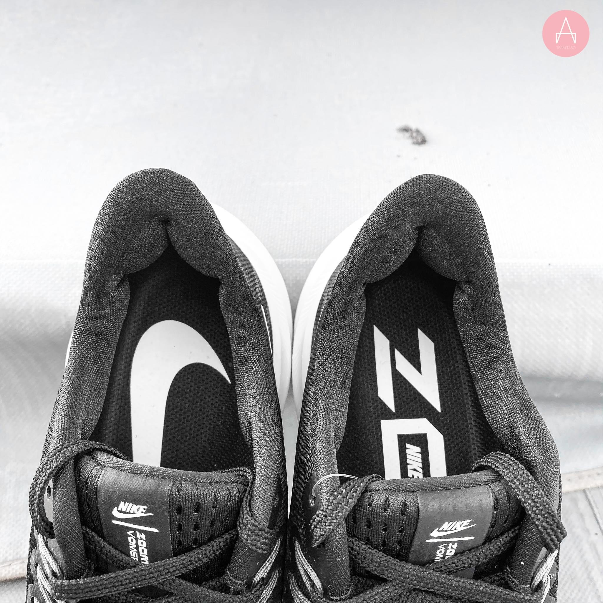 [AH7858-011] W NIKE AIR ZOOM VOMERO 14 BLACK/WHITE