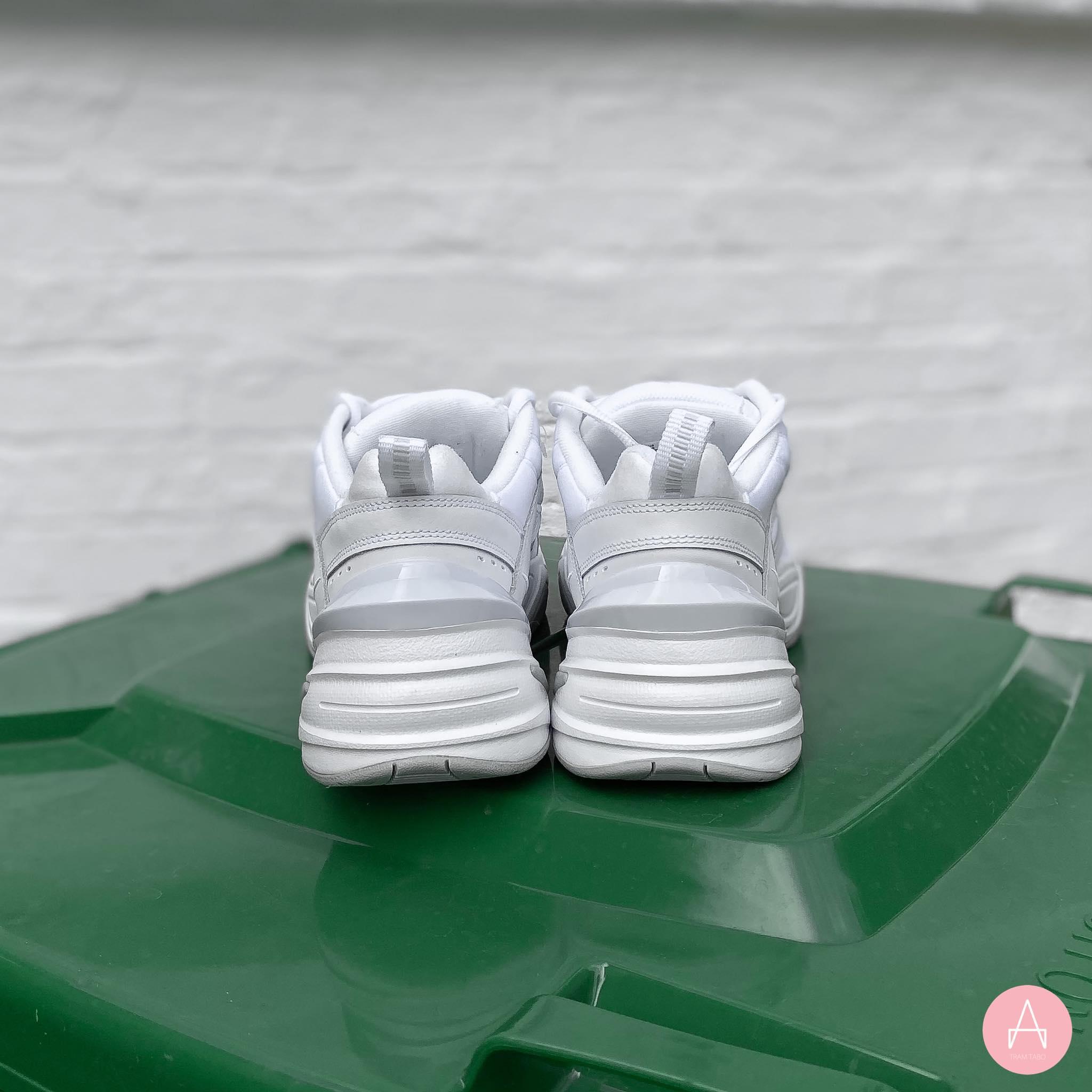 [AV4789-101] M NIKE M2K TEKNO ALL WHITE