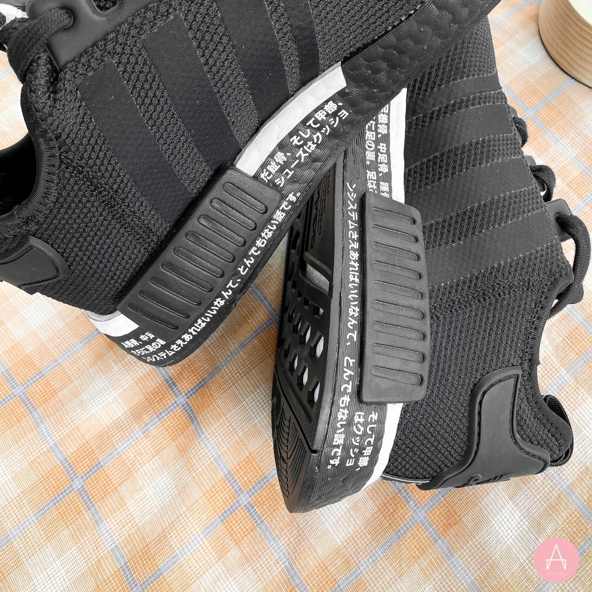 [BD7754] M ADIDAS NMD R1 V2 JAPAN BLACK WHITE