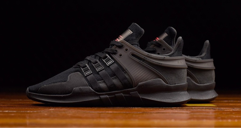 [BB0238] K ADIDAS EQT ALL BLACK
